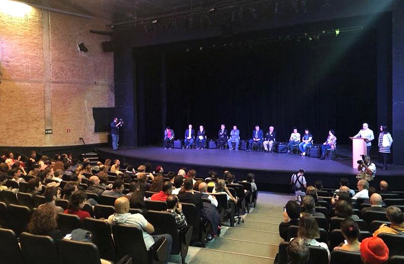 Fórum Brasileiro pelos Direitos Culturais, no Tuca em São Paulo [Divulgação]