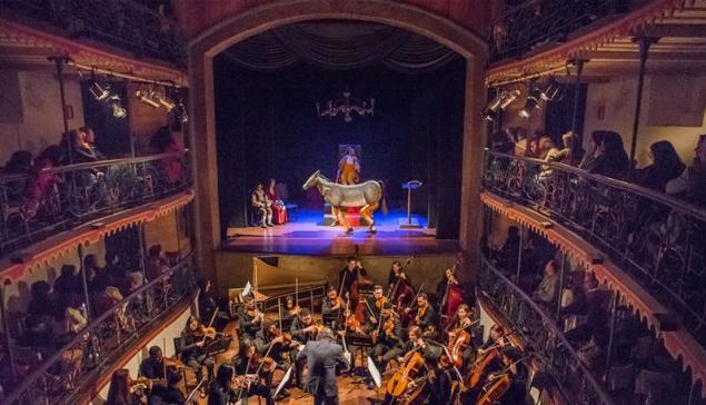 Academia Ouro Preto na Casa da Ópera [divulgação Íris Zanetti]
