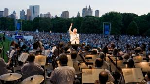 Filarmônica de Nova York. Exemplo de orquestra subsidiada pela comunidade. Foto: divulgação.